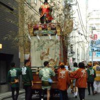 令和になって初めての波除神社のお祭り